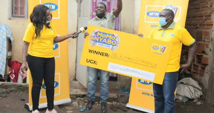 Gyaviira could not hide his joy after winning millions